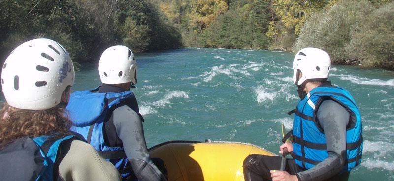 Rafting dans le Verdon.
